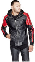 G by Guess GByGUESS Men's Vinnie Faux-Leather Jacket