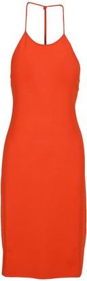 Bottega Veneta Open Back Halter Dress