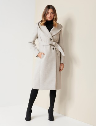 Ever New Kirsty Long Wrap Coat