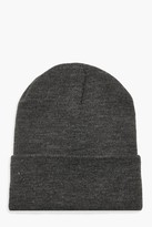 Thumbnail for your product : boohoo Basic Knitted Beanie