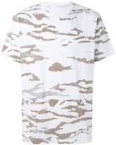 MHI camouflage slouch T-shirt - men - Cotton - M