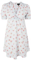 Topshop Ditsy Floral Print Tea Dress