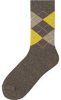 Uniqlo Women Socks (Argyle)