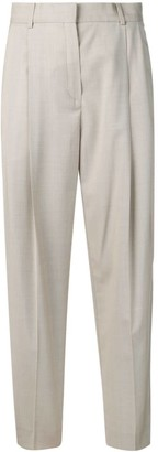 Poiret High-Waist Pleated Trousers