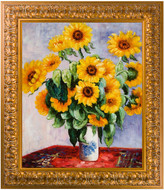 Overstock Art Sunflowers Oil Reproduction By Claude Monet