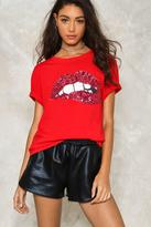 Nasty Gal nastygal Words In My Mouth Sequin Tee