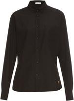 Tomas Maier Button-down collar cotton-poplin shirt