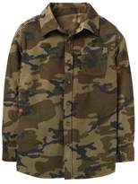 Crazy 8 Camo Microfleece Shirt Jacket