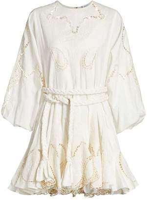 Rhode Resort Ella Embroidered Cotton Dress