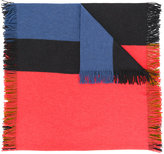 Odeeh colour block scarf