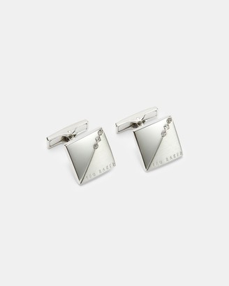 Ted Baker SMALL Square crystal cufflinks