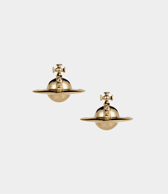 Vivienne Westwood Solid Orb Earrings Gold