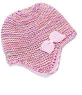 Peppercorn Kids Bow Earflap Beanie (Baby & Toddler Girls)