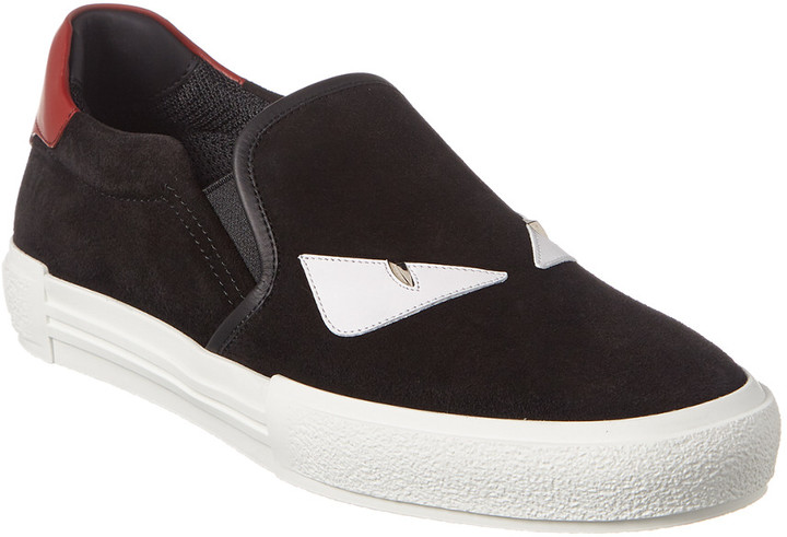 91e515f6 Monster Eye Suede Slip-On Sneaker