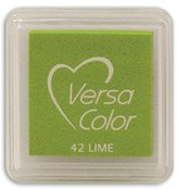 "S.t.a.m.p.s. Tsukineko VersaColor Pigment Inkpad 1"" Cube-Lime"