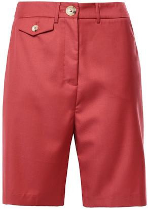 Anna Quan Twill Shorts