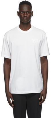 Y-3 White Logo T-Shirt