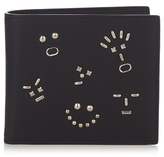 Fendi Faces Bi-fold Leather Wallet