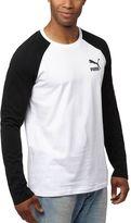 Puma Archive Logo Raglan Long Sleeve T-Shirt