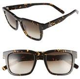 Salvatore Ferragamo 51mm Square Sunglasses