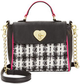 Betsey Johnson Tweed Mini Top Handle Bag, A Macy's Exclusive Style