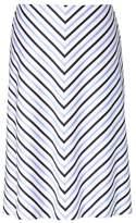 Banana Republic Chevron Stripe Skirt