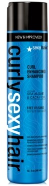 Sexy Hair Curly Curl Enhancing Shampoo, 10.1-oz, from Purebeauty Salon & Spa
