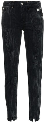 Givenchy panel detail split hem jeans