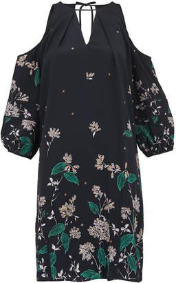 Whistles Edison Botanical Print Dress