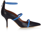 Malone Souliers Robyn point-toe leather pumps