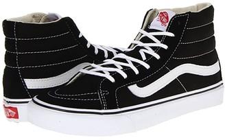 Vans Sk8-Hi Slimtm Core Classics (Black/White) Skate Shoes