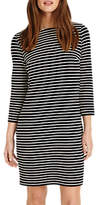 Phase Eight Sam Textured Striped Tunic, Navy/Ivory