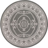 Couristan Antique Medallion Indoor/Outdoor Round Rug