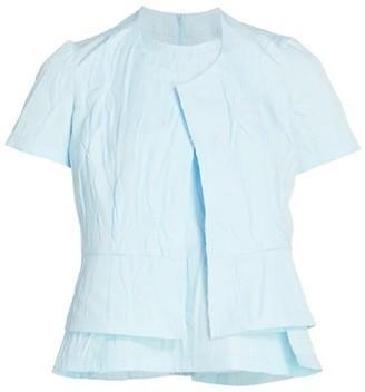 Comme des Garcons Double Layer Short-Sleeve Shirt