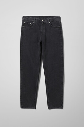 Weekday Barrel Relaxed Tapered Jeans - Black