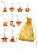 Nine-Piece Christmas Assorted Ornament Set