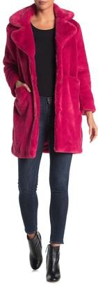 Juicy Couture Faux Fur Coat