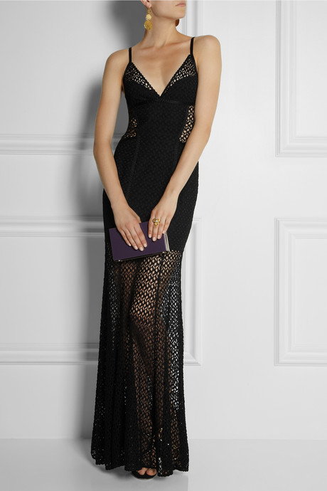 Missoni Crochet-knit gown