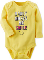 Carter's Daddy Makes Me Smile Cotton Bodysuit, Baby Boys and Girls (0-24 months)