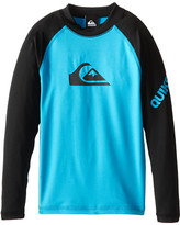 Quiksilver All Time Long Sleeve Surfshirt Rashguard (Big Kids)