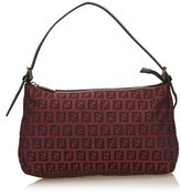 Fendi Pre-owned: Jacquard Zucchino Handbag.