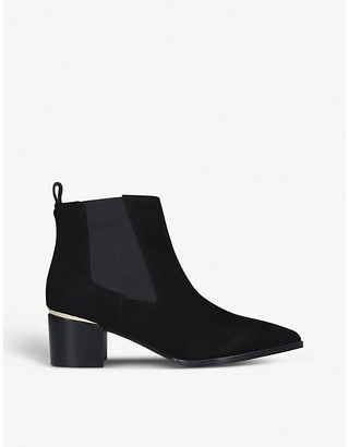 Nine West Honor leather ankle boots