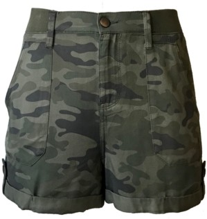 Tinseltown Juniors' Camo Utility Shorts