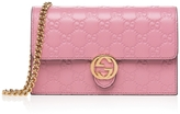 Gucci Rose GG Embossed Clutch