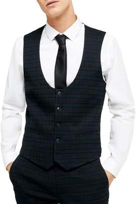 Topman Bampton Check Vest