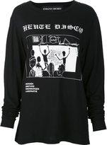 Enfants Riches Deprimes disco print sweatshirt