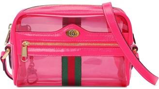Gucci Ophidia mini transparent bag