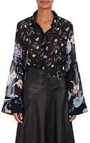 3.1 Phillip Lim Women's Floral Silk Chiffon Blouse
