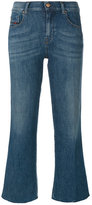 Diesel cropped flared jeans - women - Cotton/Spandex/Elastane - 24