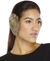 Surell Real Rabbit Fur Earmuffs